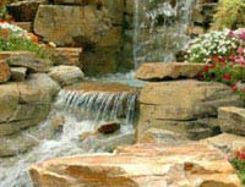 Creating a Pond Waterfall Feature